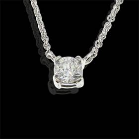 Online diamond pendants necklace uk solitaire pendants gallery diamond pendant 18kt wgsolitairediam gvs1009ct aloadofball Gallery
